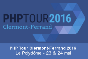 PHP Tour Clermont-Ferrand 2016